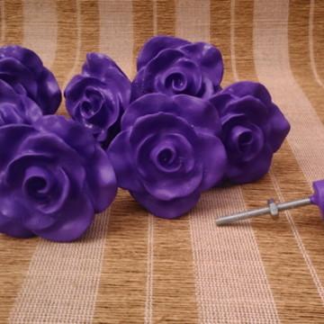 Puxador Rosa Provençal Violeta