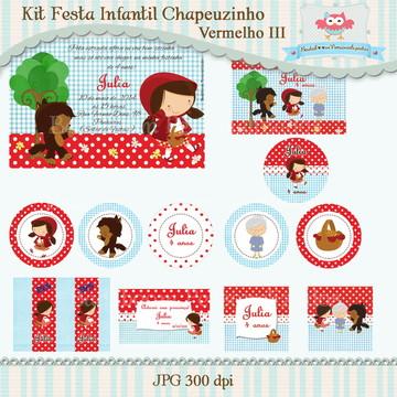 Kit Festa Chapeuzinho Vermelho III