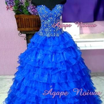 Vestido De Festa Debutante 15 Anos vde01
