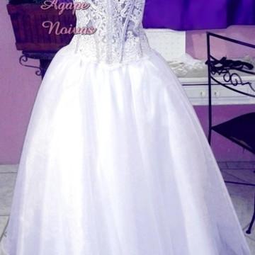 Vestido De Festa Debutante 15 Anos vde02
