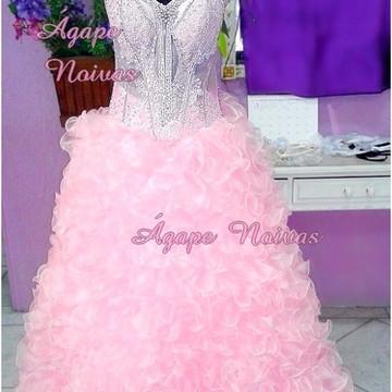 Vestido De Festa Debutante 15 Anos vde03