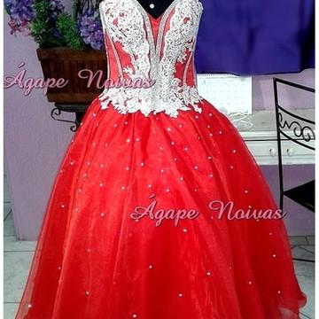 Vestido De Festa Debutante 15 Anos vde04