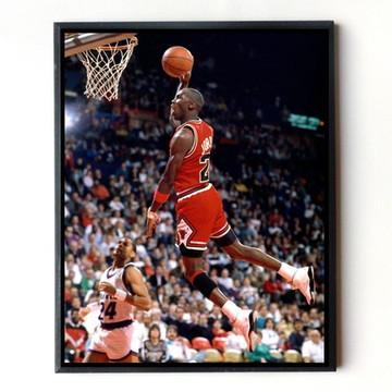 54ab0a0e66b Quadro Michael Jordan 01