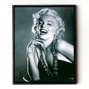 Quadro Marilyn Monroe (cinza)