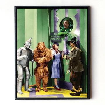 Quadro O Magico De Oz (cena)
