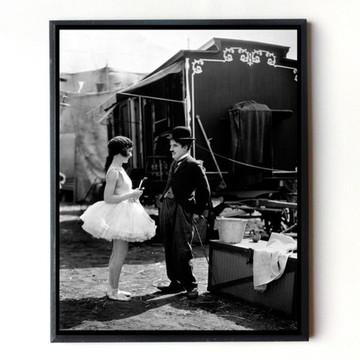 Quadro Charles Chaplin O Circo 01