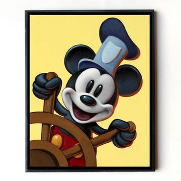 Quadro Mickey Marinheiro