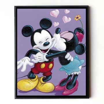 Quadro Mickey e Minie