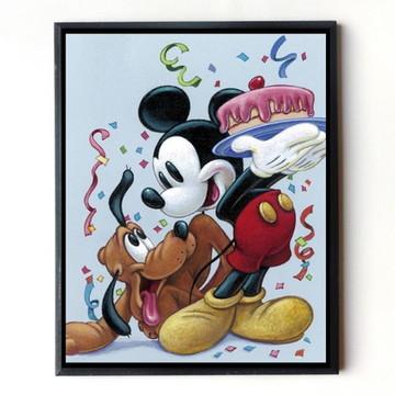 Quadro Mickey e Pluto