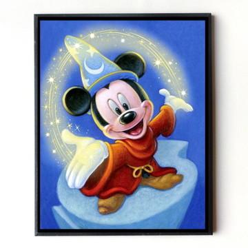 Quadro Mickey Aprendiz de Feiticeiro