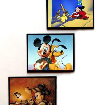 Jogo de quadros Mickey