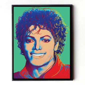 Quadro Michael Jackson (Pop Art)