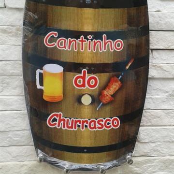Porta 4 Chaves Barril - Cantinho Churra