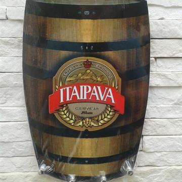 "Porta 4 Chaves Barril - ""ITAIPAVA"""