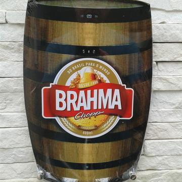 "Porta 4 Chaves Barril - ""BRAHMA"""