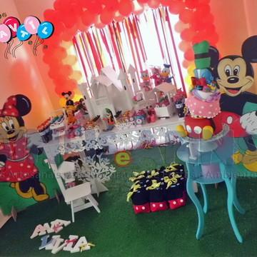 Turma do Mickey - Decoração de Festa