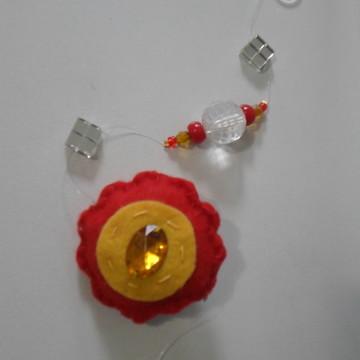 móbile de flor