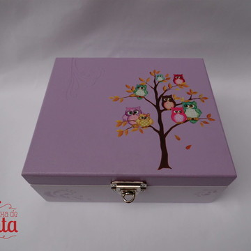 Caixa de Joias Corujinhas 2