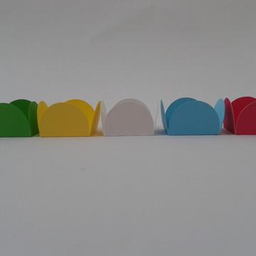formas para doces com 12 unidades