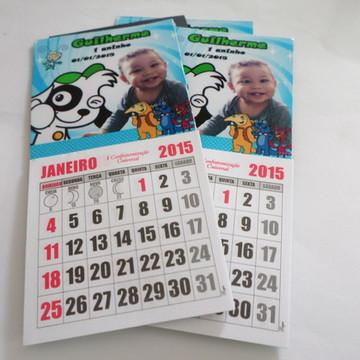 Imã com calendario dok