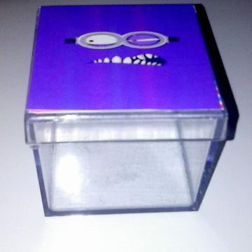 Caixinha de Acrílico dos Minions