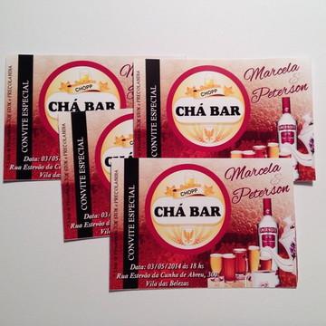 Convite Chá De Panela / Chá Bar