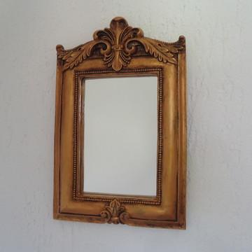 Espelho Lis Ouro Velho