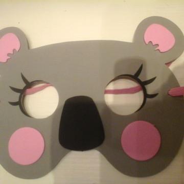 Máscara de ursa coala/Koala - charmosa
