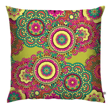 Capa de Almofada Mandala Colors