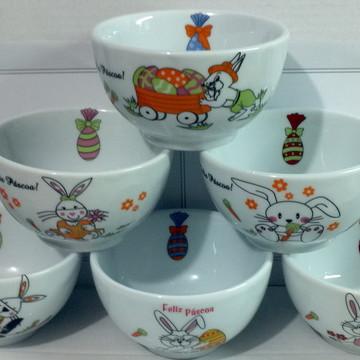 Bowl em porcelana Páscoa