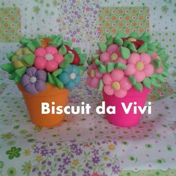 Vasinho decorativo de biscuit