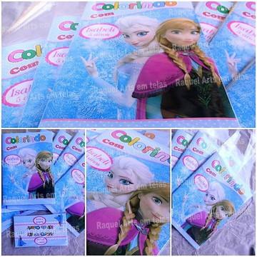 kit Colorir: Frozen