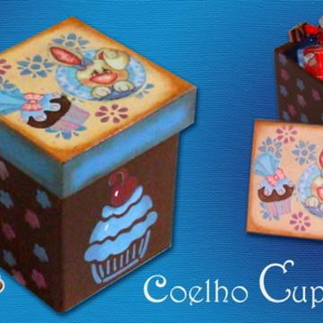 Caixa Coelho Cupcake