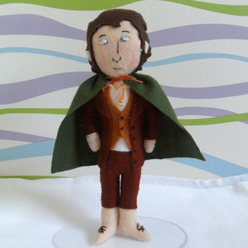 Miniatura personagens - Frodo