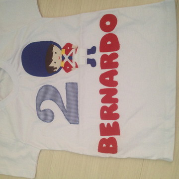 Body Ou Camiseta Soldadinho de Chumbo