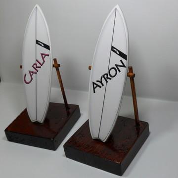 Mini Prancha De Surf Decorativa
