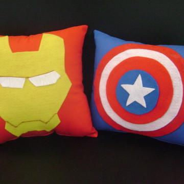 almofada super herois