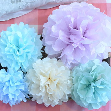 Kit Pom Pons Cores SUAVES Baby Colors