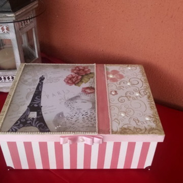 Caixa Vintage (Porta objeto)