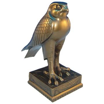 Falcão Egípcio - Hórus Estátua em resina