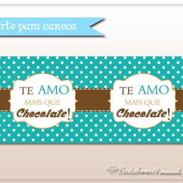 Caneca Personalizada Chocolate (arte)
