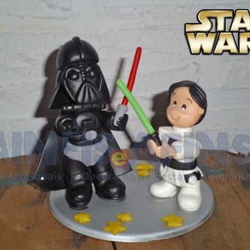 Topo de Bolo Star Wars (duplo)
