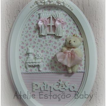 Porta de Maternidade Oval