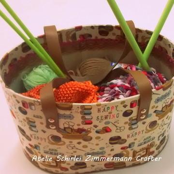 Kit bolsa para lã em Cartonagem