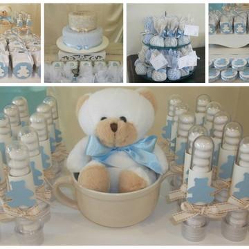 Kit Festa Chá de Bebê 30 pessoas
