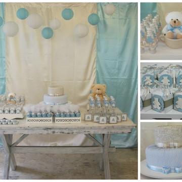 Kit Festa Chá de Bebê 50 pessoas