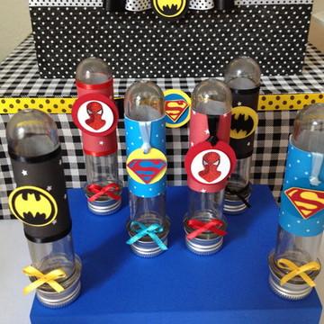 Tubete personalizado Super Heróis