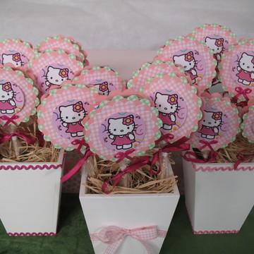 Pirulito personalizado Hello Kitty 1