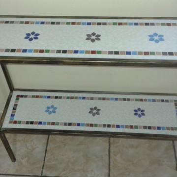 Aparador Duplo com Mosaico Encanto