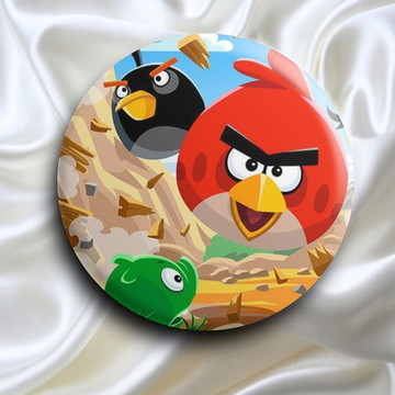 Bottons Angry Birds - 38mm
